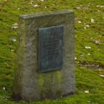 Gedenkstein jüdischer Friedhof Stade